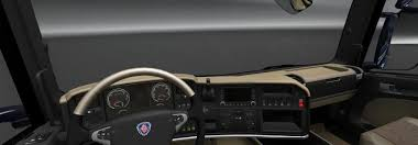 Interior Truck Scania Scania Trucks Interiors U0026 Exteriors Improvements Pack Modhub Us