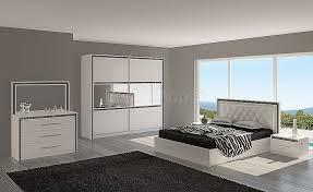 chambre a coucher design chambre beautiful chambre a coucher blanc laque brillant high