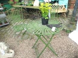 Wrought Iron Bistro Table And Chairs French Garden Furniture Metal U2013 Exhort Me
