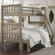 twin over full twin over queen rustic bunk beds barnwood