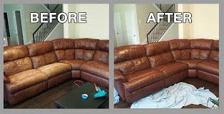 Leather Sofa Restoration Premier Leather Restoration What Customers Say Client Results