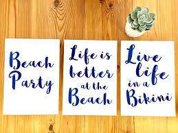 home decor prints beach print beach house decor gallery wall prints summer art