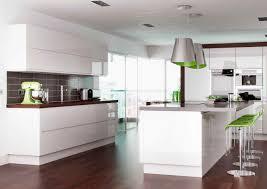 rimini handleless white pebble kitchens