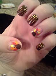 201 best thanksgiving nail art images on pinterest fall nail art