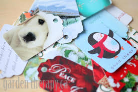 old christmas cards crafts christmas lights decoration