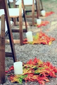 Fall Wedding Aisle Decorations - 57 fall wedding aisle decor ideas happywedd com wedding things