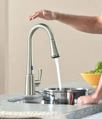touch kitchen faucets reviews delta kitchen faucet touch bloomingcactus me