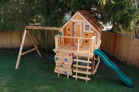 how to organize the backyard for kids playhouse plans