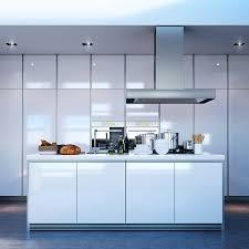 beautiful modern white kitchen island