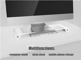 aluminium multifunction elevator laptop computer monitor stand
