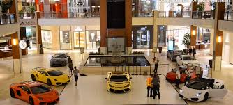 lamborghini dealership five lamborghinis drive though a miami mall autoevolution