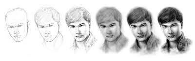 tutorial menggambar orang dengan pensil 3 cara mudah menggambar wajah manusia beserta contohnya