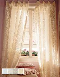 Shari Lace Curtains 4 Styles Of Lace Window Curtains