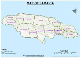 Jamaica Map Parishes Electoral Commission Of Jamaica