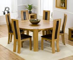 round dining table and chairs exquisite wood round dining table for 6 kitchen express your tables