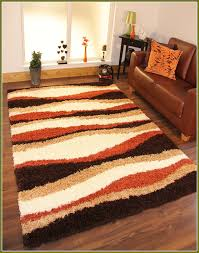 Viera Area Rug Modern Brown And Area Rugs Burnt Orange Rug Designs With For