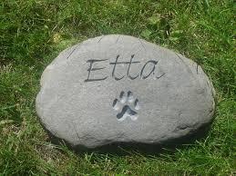 pet memorials garden stones pet memorials by on the rocks