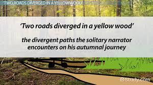 the road not taken summary u0026 theme video u0026 lesson transcript
