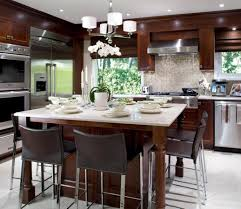 graceful kitchen island with seating built in tags kitchen