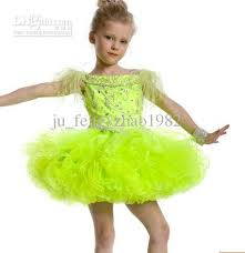 lime green white red feather beads flower dresses short mini