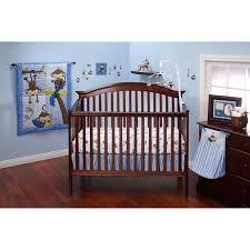 Nojo Jungle Crib Bedding by Little Bedding By Nojo 3 Little Monkey Boy Crib Set Hayneedle