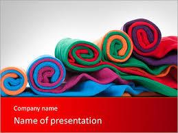 fabric powerpoint template smiletemplates com