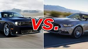mustang vs dodge challenger dodge challenger vs ford mustang carsdirect