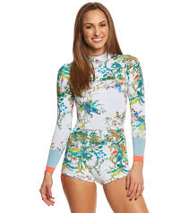 cynthia rowley blouse cynthia rowley rainbow vines printed wetsuit at swimoutlet com