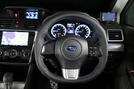 2013 Sti Interior Damd D Shaped Steering Wheel Blue Stiching 2015 Wrx 2015