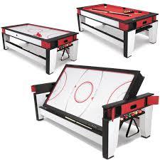 air hockey table over pool table air hockey to billiards table