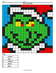 the grinch division coloring page coloring squared pinterest