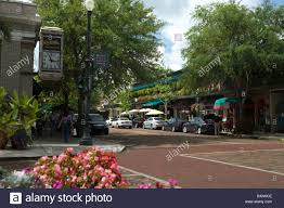 park avenue winter park south park avenue winter park orlando florida usa stock photo