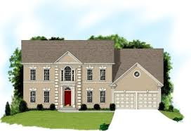 traditional 2 story house plans 4 bedroom 3 bath southern house plan alp 025h allplans