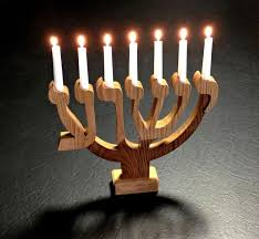 seven branch menorah my business hebrew carvings
