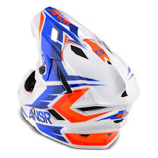 youth motocross helmet answer racing 2015 youth faze bmx helmet blue orange available at