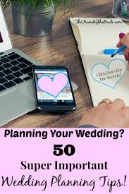 Planning Your Own Wedding 50 Super Important Wedding Planning Tips The Friend Of The