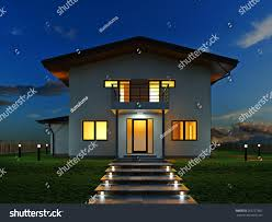 picture modern architecture modern house design stock illustration