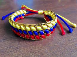 handmade chain bracelet images Handmade colombian flag chain bracelet on storenvy jpg
