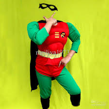 Halloween Costumes Boys 3 7 Party Kids Comic Marvel Robin Superhero Muscle Halloween