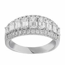 rings bands diamonds images Wedding bands costco