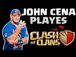 john cena fan club john cena plays coc lvl 14 clan biggest fan club clash of clans