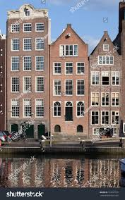 Row Houses by Dutch Style Row Houses By Water Stock Photo 152227730 Shutterstock