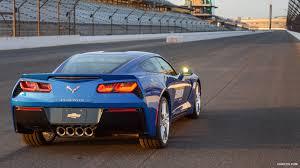 corvette stingray 2014 2014 chevrolet corvette stingray z51 indy 500 pace car rear hd