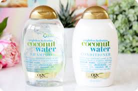 review ogx coconut water kukui oil u0026 keratin oil giveaway