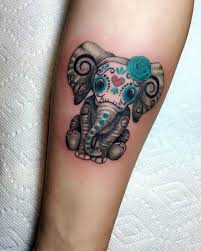 tattoo elephant skull 45 awesome arm tattoos for men and women you want to have