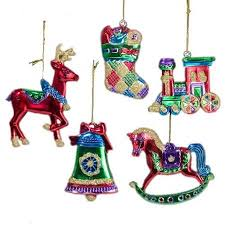 carousel ornaments rainforest islands ferry