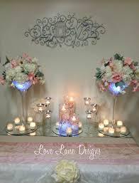 flower arrangements with lights wedding arrangement idea peony floral arrangements with led lights