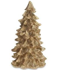 trans pac to the world large resin gold tree