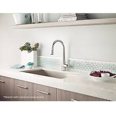 polished nickel kitchen faucet polished nickel lita pull kitchen faucet gt529 smd