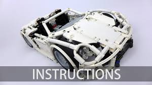 porsche instructions technic porsche 918 spyder building instructions youtube
